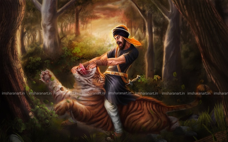 hari singh nalwa digital painting by ~sharanart on deviantART  | Sikhpoint.com