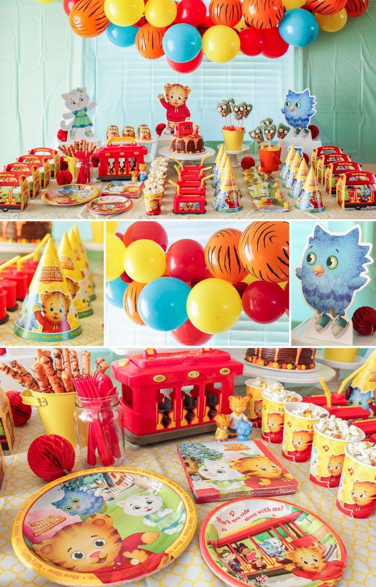 Daniel Tiger Decorations