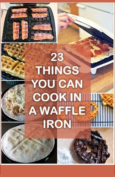 23 Things You Can Cook In A Waffle Iron | Tips For Women