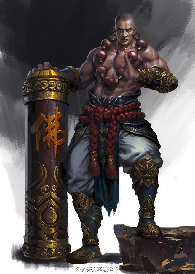 231 best Monk images on Pinterest | Character concept ...