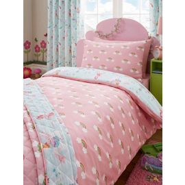Tesco direct: Magical Unicorn Single Duvet Cover and Pillowcase Set