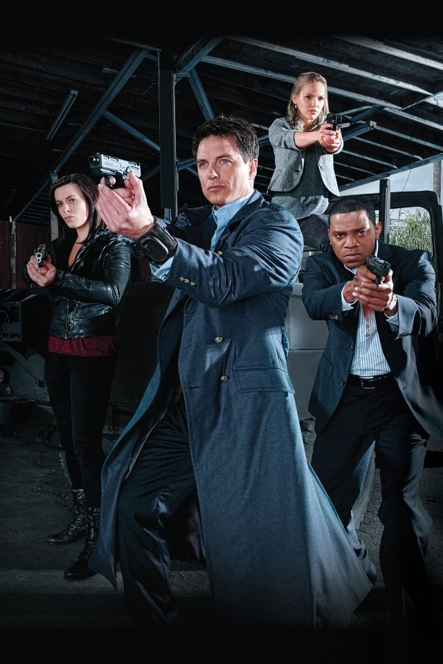 TORCHWOOD American version.... Not quite as good as the original.