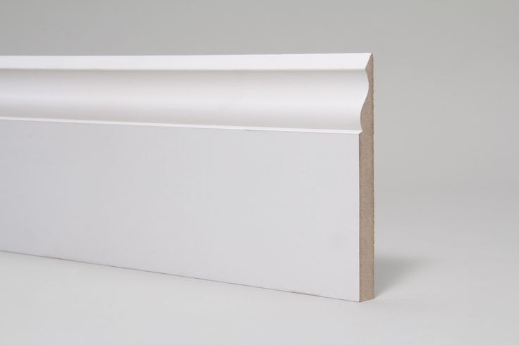 Ogee 15mm x 144mm x 4.4 Mtr Primed - Ogee Skirting Boards - By Profile - Skirting Boards | The Skirting Board Shop