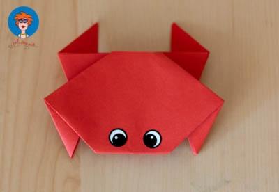 Krab vouwen 8