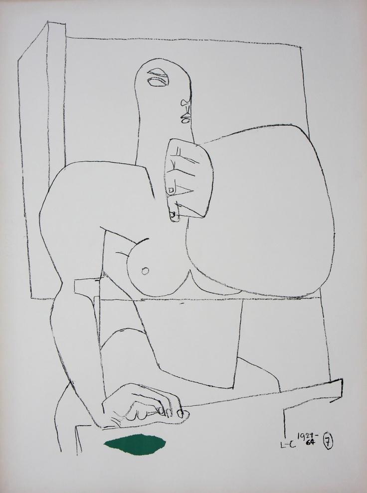 Athlete 7 by Le Corbusier