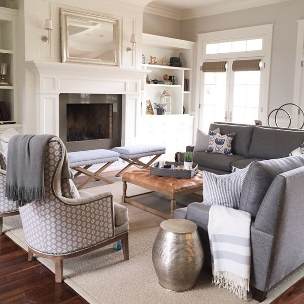 Living Room Sectional Design Ideas 3 simple ways to style cushions on a sectional or sofa gray sectionalgray couchessmall sectionalliving room sectionalideas French Door And Trim Caitlin Creer Interiors On Instagram Living Room