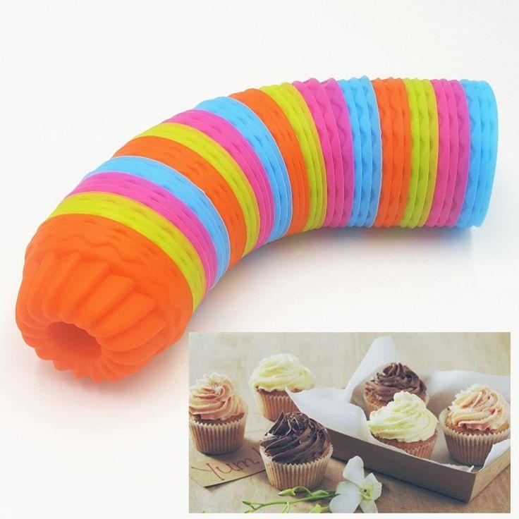 6.5*3 CM 12 Sztuk/partia Dyni Kształt 3D Ciasto Kubek Silikonowy Muffin Cupcake Mold Narzędzia Do Pieczenia Ciasto Dekorowanie Narzędzia do Pieczenia