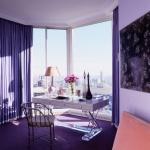 Colori per pareti interni salotto, sala da pranzo: Shades Of Purple, Offices Spaces, The View, Purple Offices, Interiors Design, Purple Rooms, Work Places, Home Offices, Design Offices