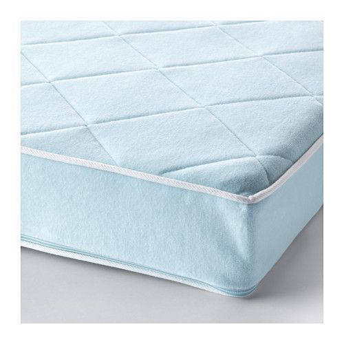 VYSSA VACKERT Mattress for small bed IKEA Pocket spring mattress gives precise support to your child's growing body.