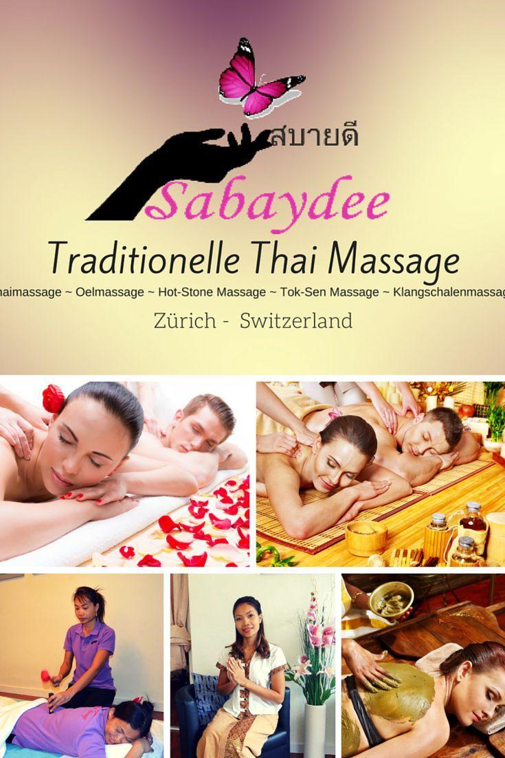 Sabaydee Traditionelle Thai Massage für Sie und Ihn!  Ein Ort für Ihr Wohlbefinden. Schalten Sie vom stressigen Arbeitstag ab und gönnen Sie sich eine Auszeit bei Sabaydee Thai Massage.   Sabaydee Praxis, Ihr Weg zur Entspannung und Gesundheit.  Thai Massage (Thaimassage), Ölmassage, Hot-Stone Massage, Tok-Sen Massage (Thai Klopfmassage), Wellness Scrub – Körperpeeling und Klangschalenmassage mit tibetischen Klangschalen.