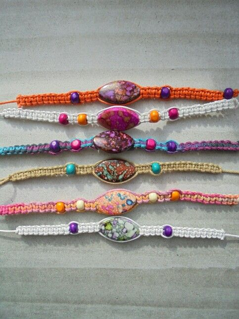 New hippie festival bracelets now available from www.facebook.com/uniquenessgemz  £3.50 ships worldwide paypal accepted.