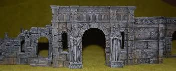 Image result for ruins model images