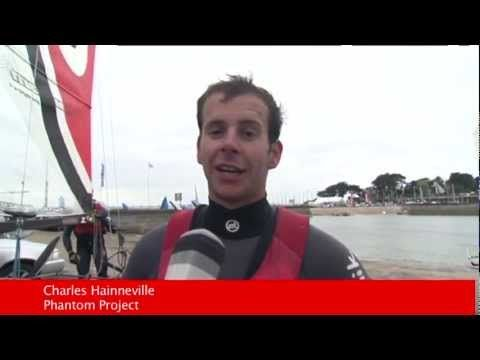 http://www.carnac-tv.fr  Reportage TV Quiberon 24/7 - 28 Avril 2012 - L'Eurocat rassemble à Carnac dans le Morbihan en Bretagne sud 370 équipages sur des catamarans. C'est la grande fete du bateau de sport qui se dispute dans la Baie de Quiberon avec un raid nautique autour de l'ile de Houat.