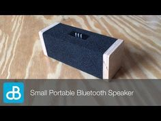Small Portable Bluetooth Speaker - YouTube