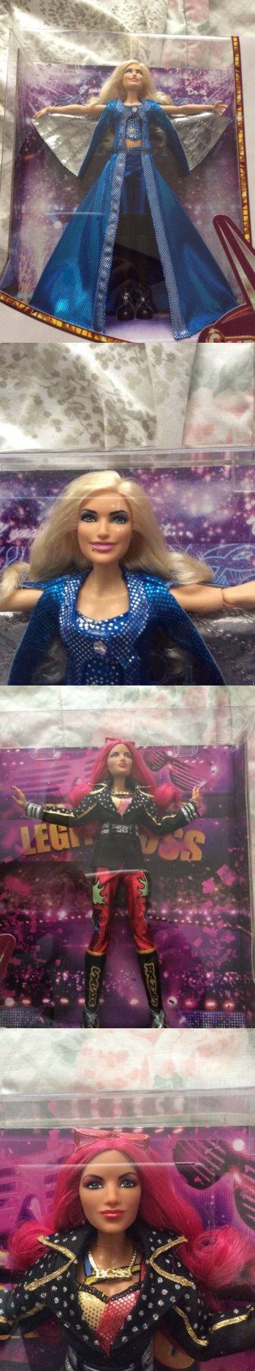 Sports 754: Sdcc 2017 Exclusive Sasha Banks Charlotte Flair Wwe Superstars -> BUY IT NOW ONLY: $92 on eBay!