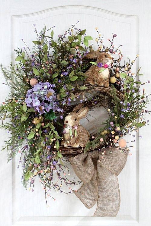 flowersgardenlove:    Easter Primitive Cou Flowers Garden Love