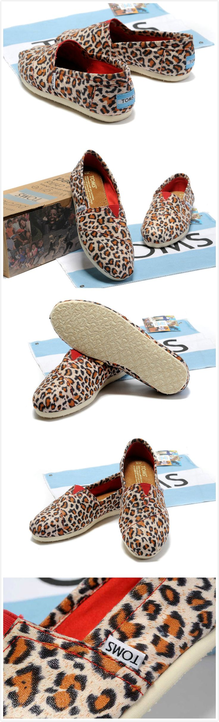 Toms Classic Shoes Canvas Women Leopard for $17.59. Just so you know, I am on board! Pin It To Win It: docs.google.com/...