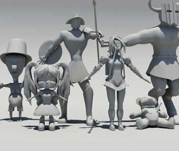 Character Concepts by our students here at JMC Academy! www.jmcacademy.edu.au
