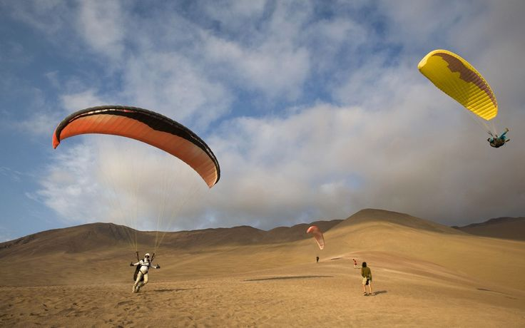 Paragliding in Iquique