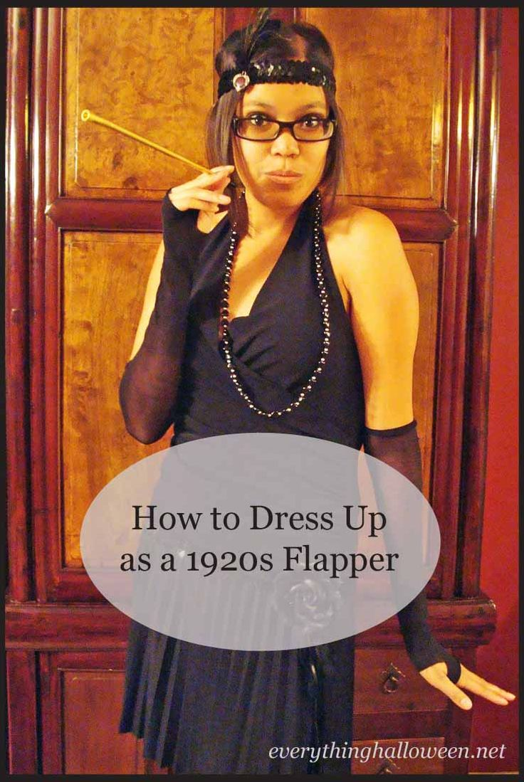 How to dress up as a 1920s Flapper Girl