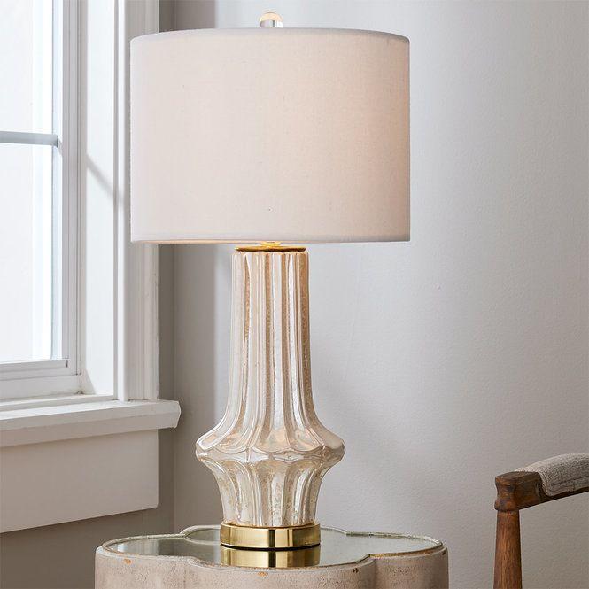 Cream Ruffle Table Lamp In 2020 Table Lamp Table Lamp Shades Lamp
