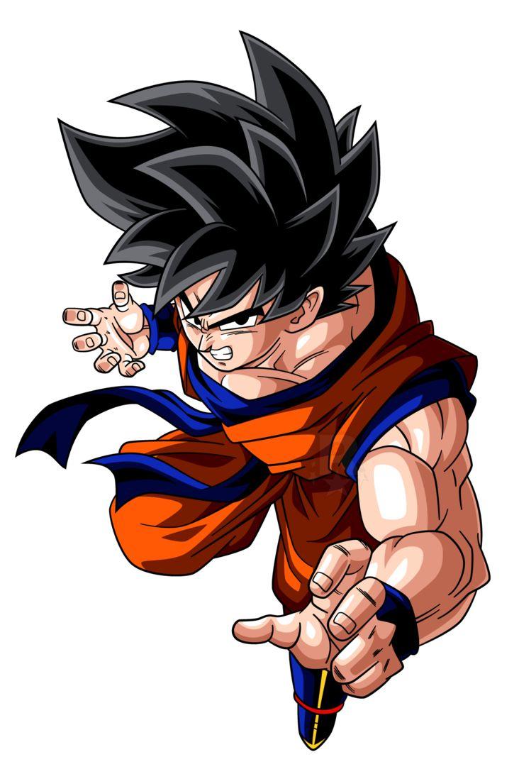 Kaioken Goku (Alt.1) by AubreiPrince