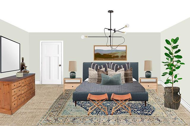 Trim Design Co Mixes Modern And Vintage In This Eclectic