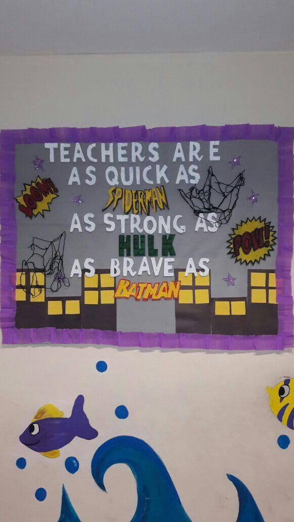 teachers day bulletin board öğretmenler günü