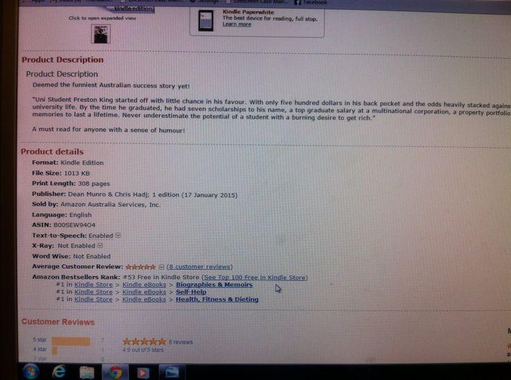 #1 Amazon Best Seller