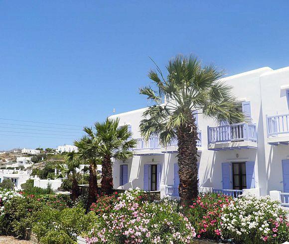 The Anastasios Sevasti Hotel in Mykonos, Greece