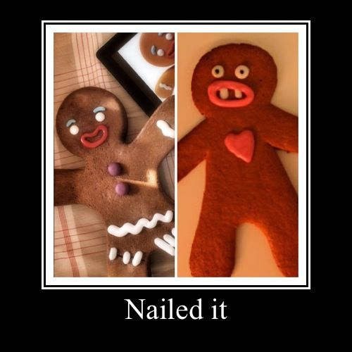 Nailed it   #funny demotivational poster