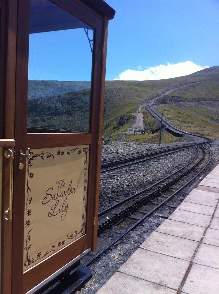 The Snowdon Mountain Railway heritage coach ...