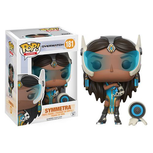 (affiliate link)  Overwatch Symmetra Pop! Vinyl Figure