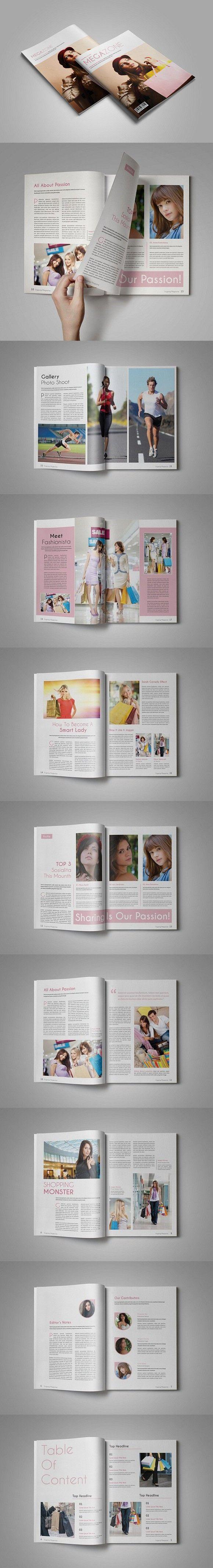 Mejores 590 imágenes de Magazine Templates en Pinterest | Diseño de ...