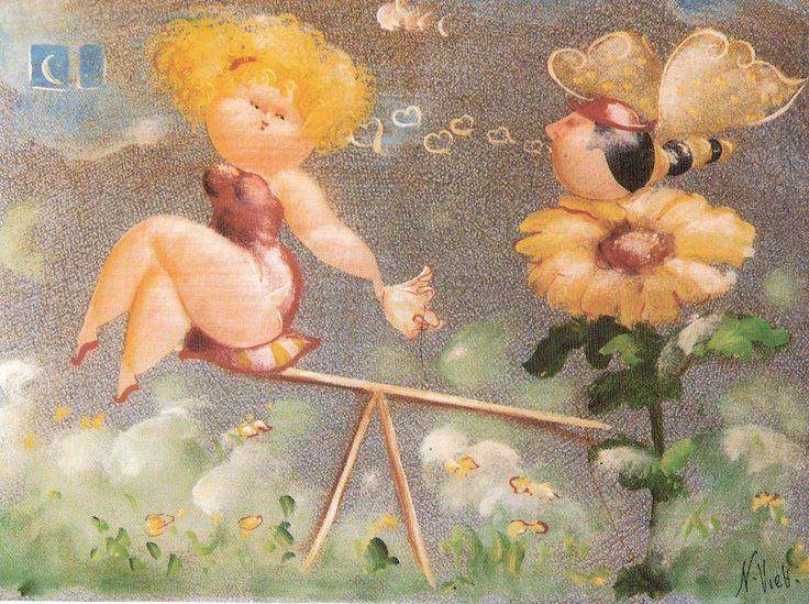 Nicola Vietti, La farfalla innamorata