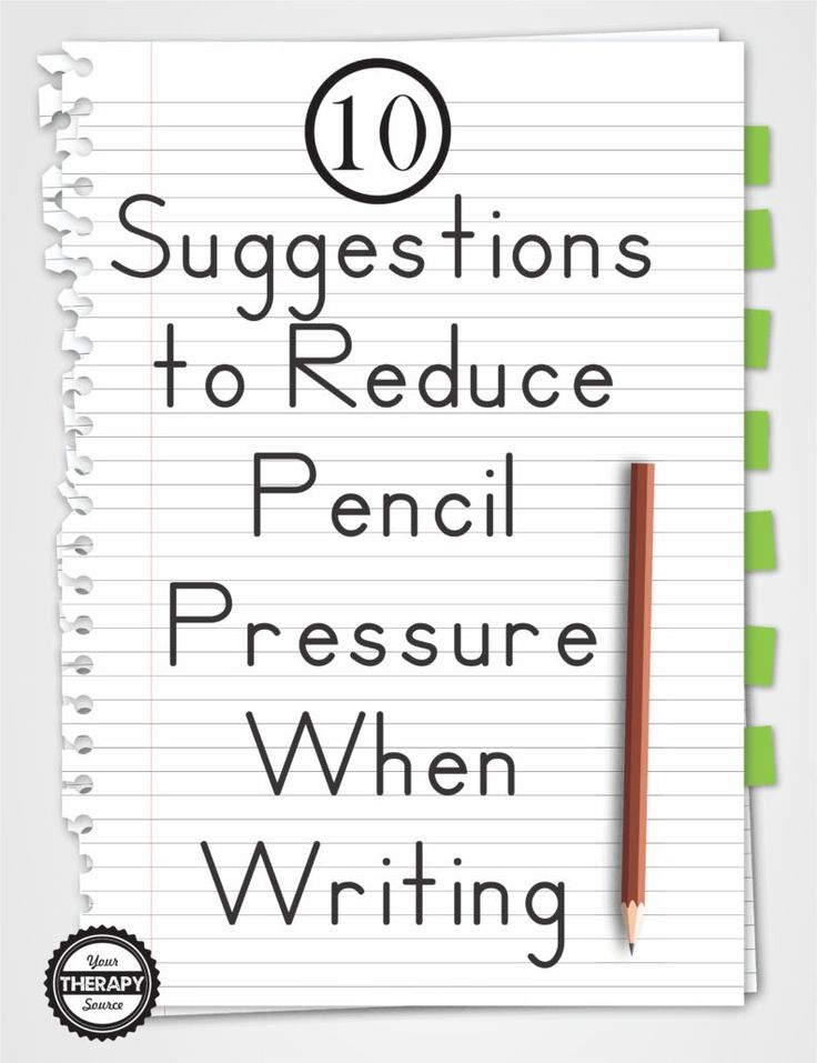 10 suggestions to reduce pencil pressure when writing speech language pathology handwriting. Black Bedroom Furniture Sets. Home Design Ideas