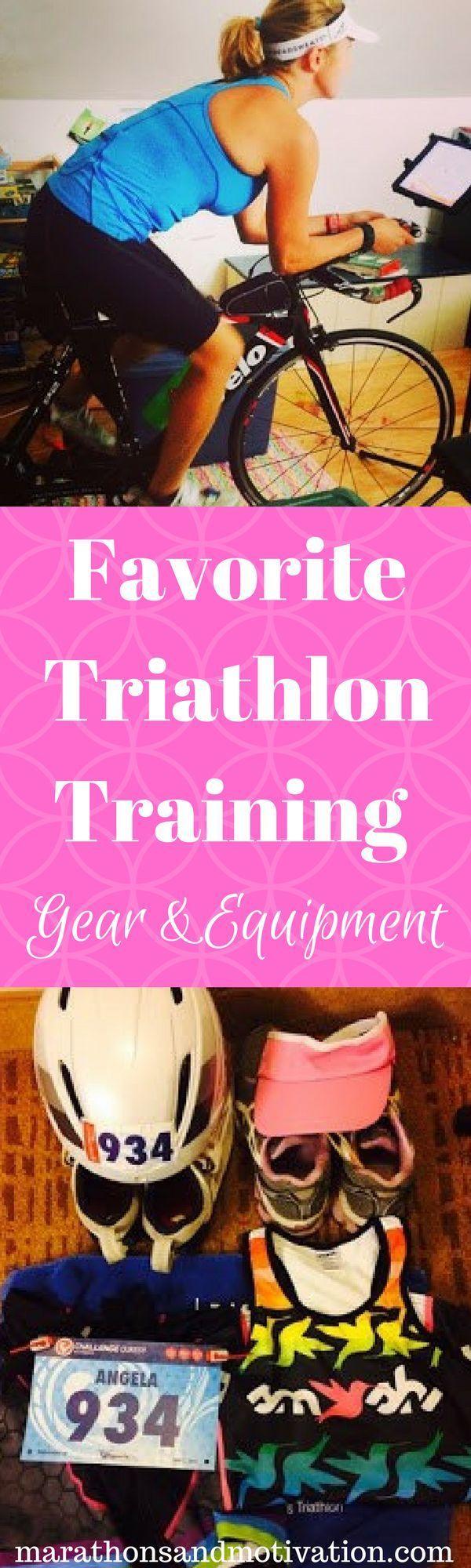 Triathlon Training Gear and Equipment: FAVORITE items for Sprint Triathlons   Ironman Triathlons   Swimming   Cycling   Running
