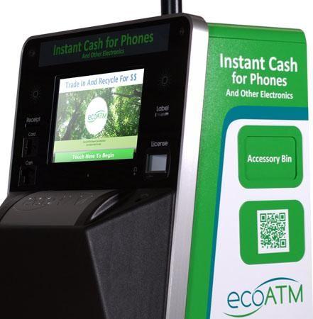 EcoATM: il raccoglitore che dà soldi in cambio dei vecchi cellulari