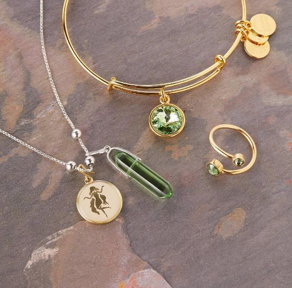 August blueprint | ALEX AND ANI August Birth Month Charm Bangles | ALEX AND ANI…
