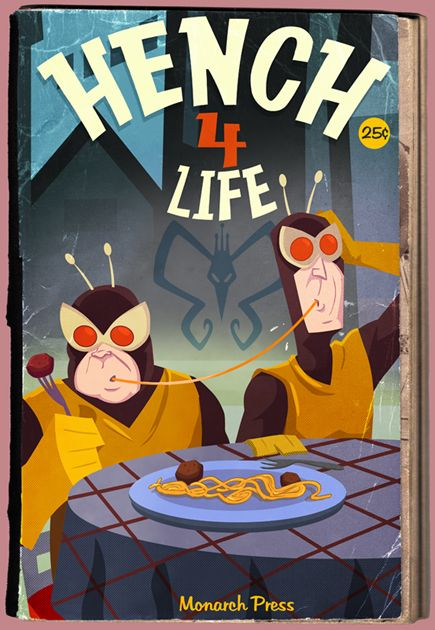 Hench 4 Life by ~jusscope [Venture Bros] love this! Venture Brothers is my favorite cartoon.