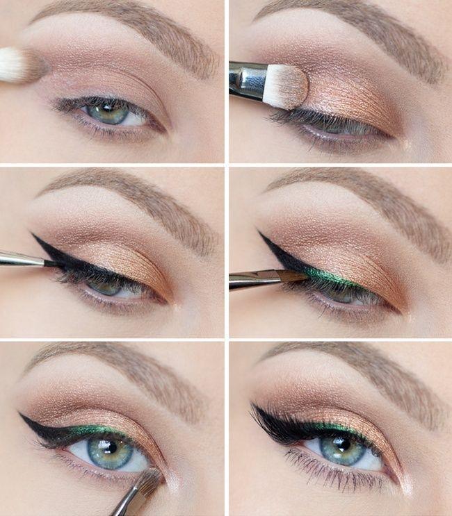 cool Красивый вечерний макияж для серых глаз (50 фото) — Пошаговое выполнение