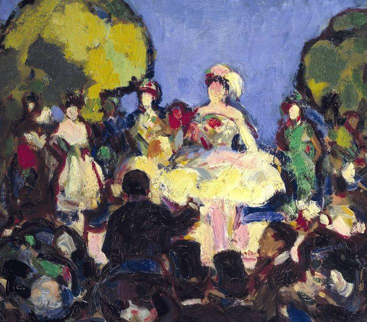 J.D. Fergusson 'Café-Concert des Ambassadeurs', 1907 © Tate