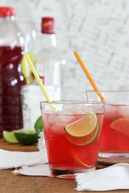 recette de saint Valentin cocktail rose gin cranberry 0002 LE MIAM MIAM BLOG