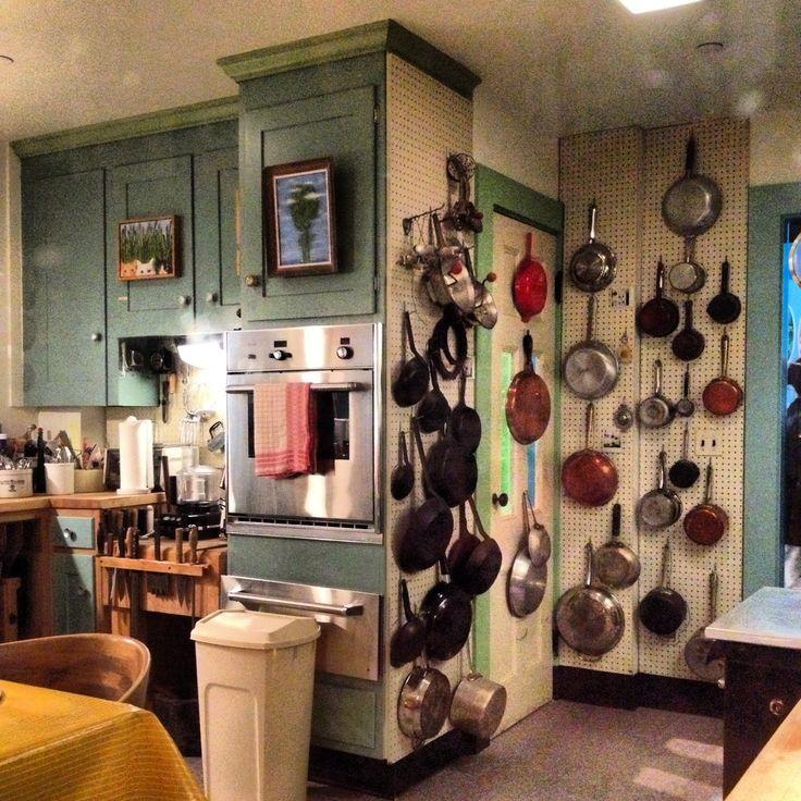 Julia Child's kitchen at the Smithsonian Museum of American History in DC. #bonappetit