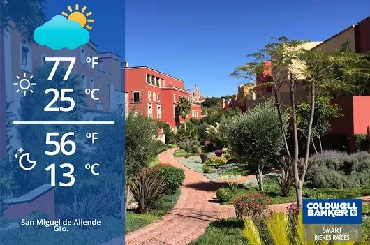 San Miguel de Allende Weather! Partially #cloudy a lot of #sun! #weather #sma #sanmigueldeallende #mexico