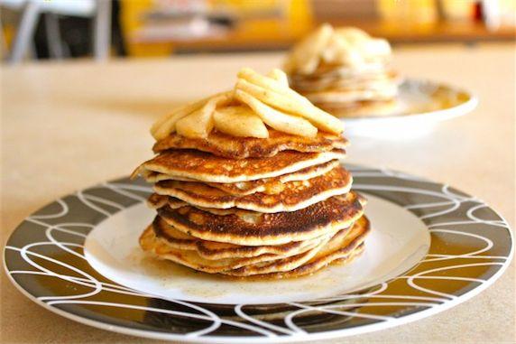 Buttery Cinnamon Apple Pancake (for Steve)