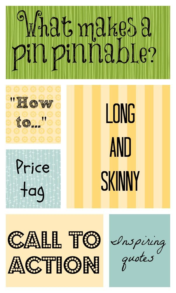 ESS Blog post- What makes a pin pinnable on pinterest?
