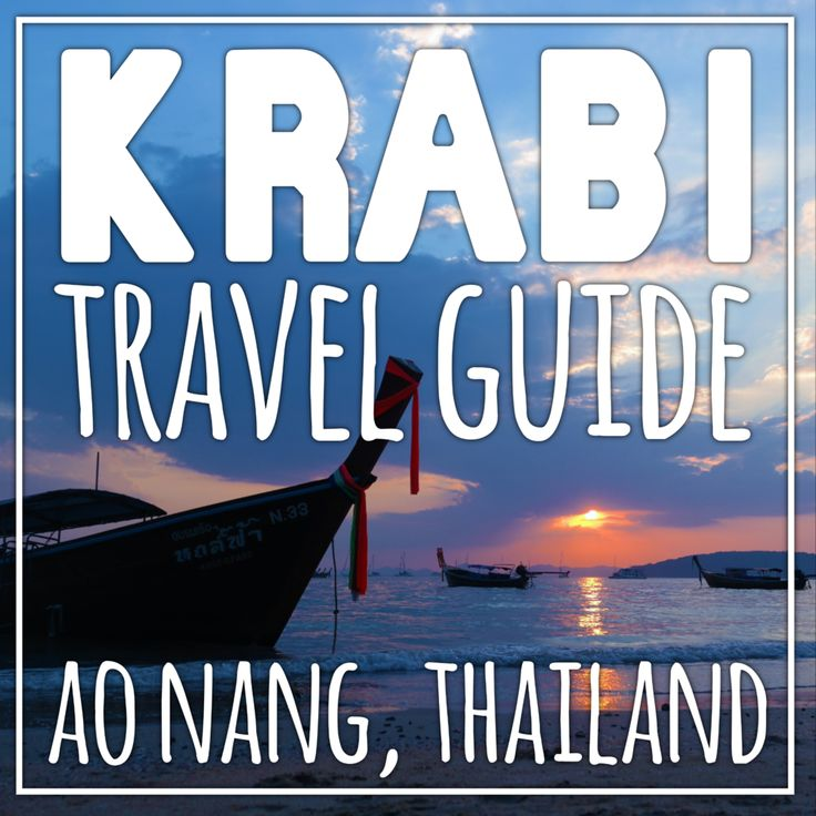 So you're visiting Krabi... MAKE SURE YOU KNOW WHERE YOU'RE HEADED! Krabi  Town - Ao Nang - Railay Beach... This massive region of Southern Thailand  generally get's described as Krabi (correctly) but most tourists fail to  recognize that Krabi actually describes the name of the region, not a small  tourist town. If you are looking for the beach resort town, you're looking  for Ao Nang. Book a place in Krabi Town and you'll be a 30minute drive  away from the beach you packed to…