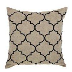 Bocce Black Cushion