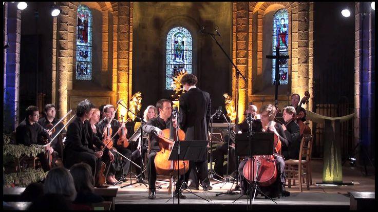 Henri Demarquette et Claire-Lise Démettre interprètent le concerto pour deux violoncelles en sol mineur de Vivaldi. Orchestre de Chambre de la Nouvelle Europ...
